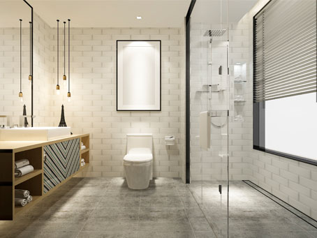 Modern Bathroom Cover